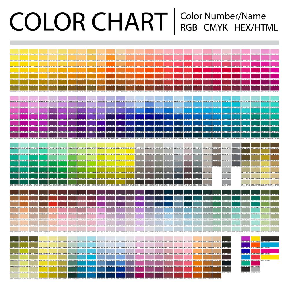 Charte couleur